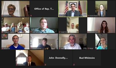 Graves hosts video chat with military academy appointees