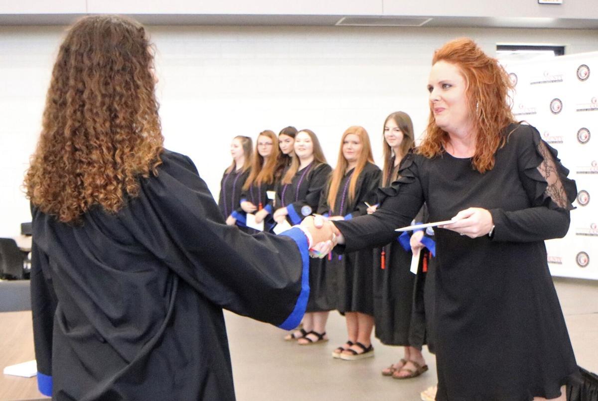 PSD honors seniors who earned associate degrees