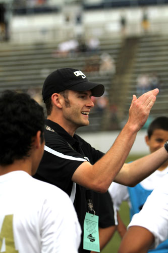 Calhoun coach Matt Rice