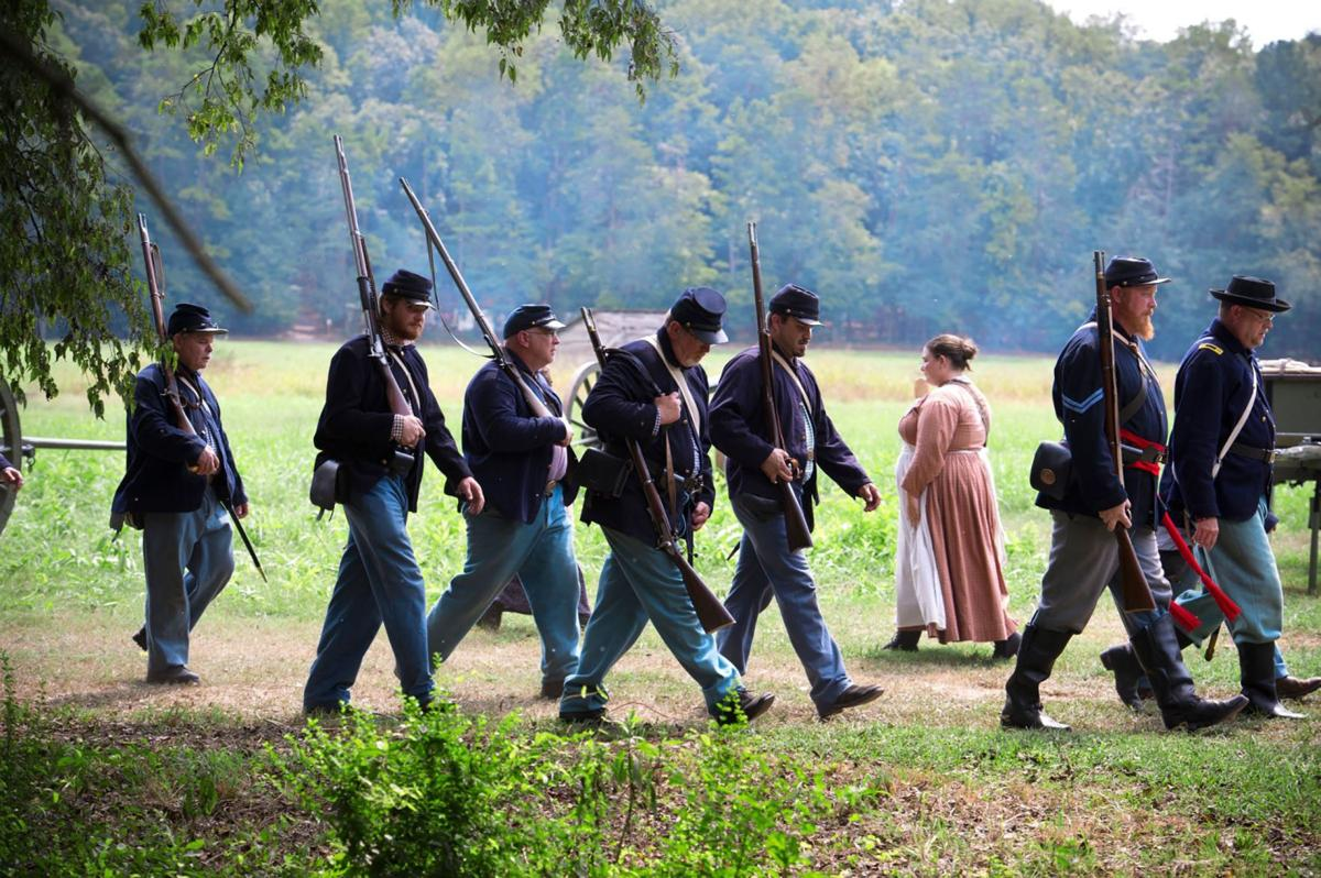 Civil war reenactors keep history alive
