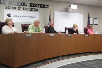 Polk County Board of Education Work Session - May 2018