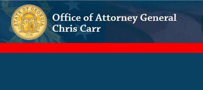 Attorney General Chris Carr logo