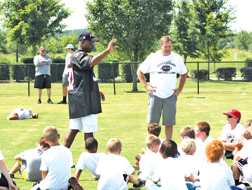 Sheriff's Auxiliary Football Camp