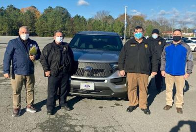 Cedartown Police take delivery of 2 new patrol vehicles