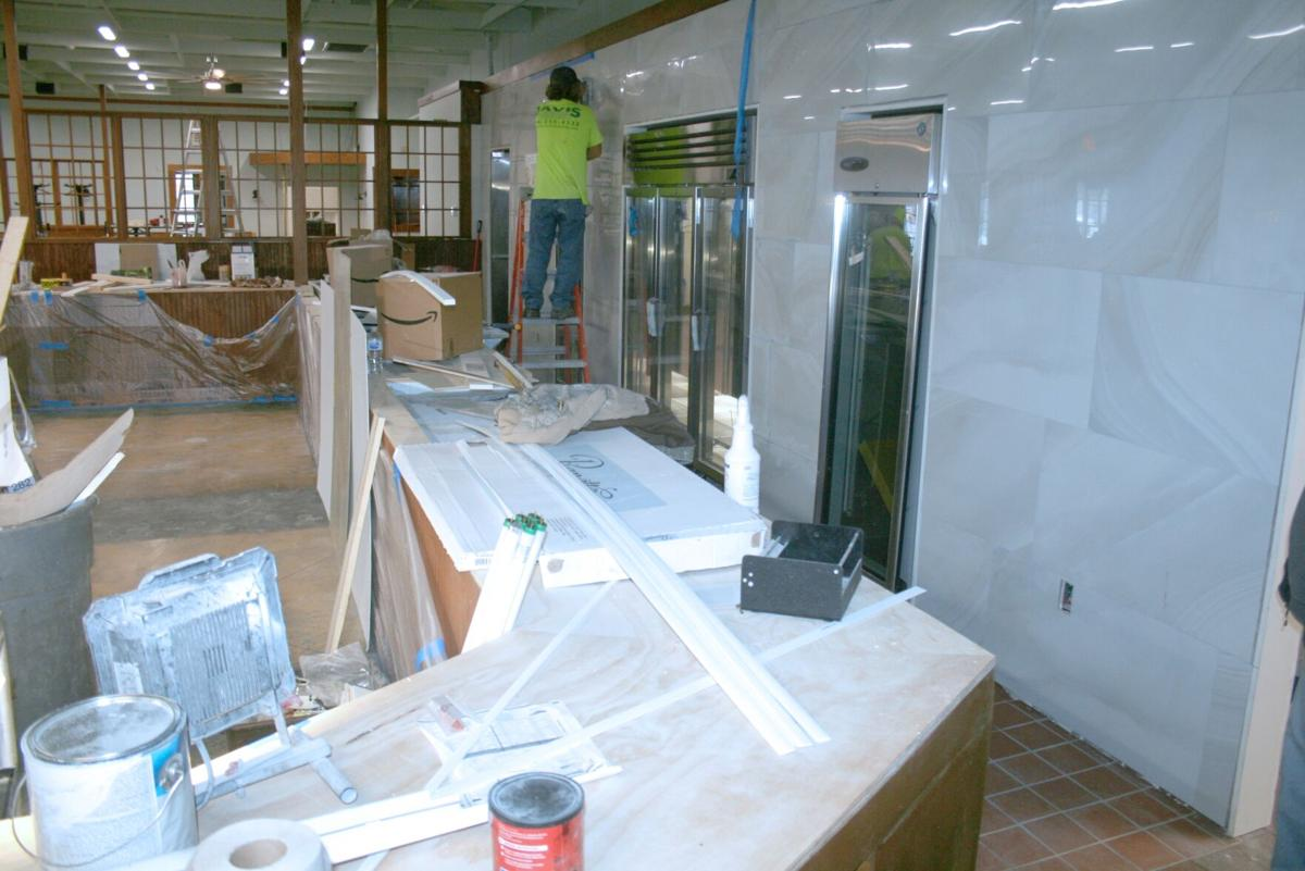 Interior of Pick O' Deli location on Riverside Parkway coming together