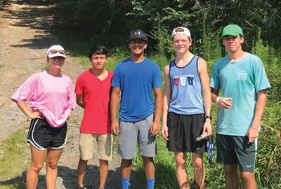 Calhoun athletes clean up Water Tank Bike Trail