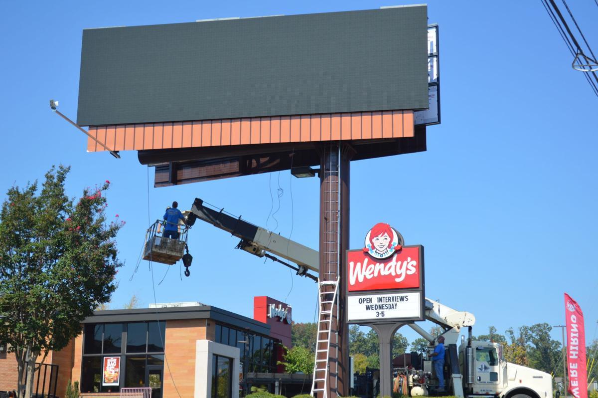 Billboard on Barrett