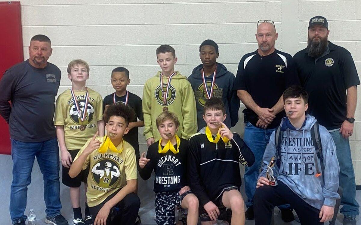 Rockmart Middle squad finishes third at league tournament