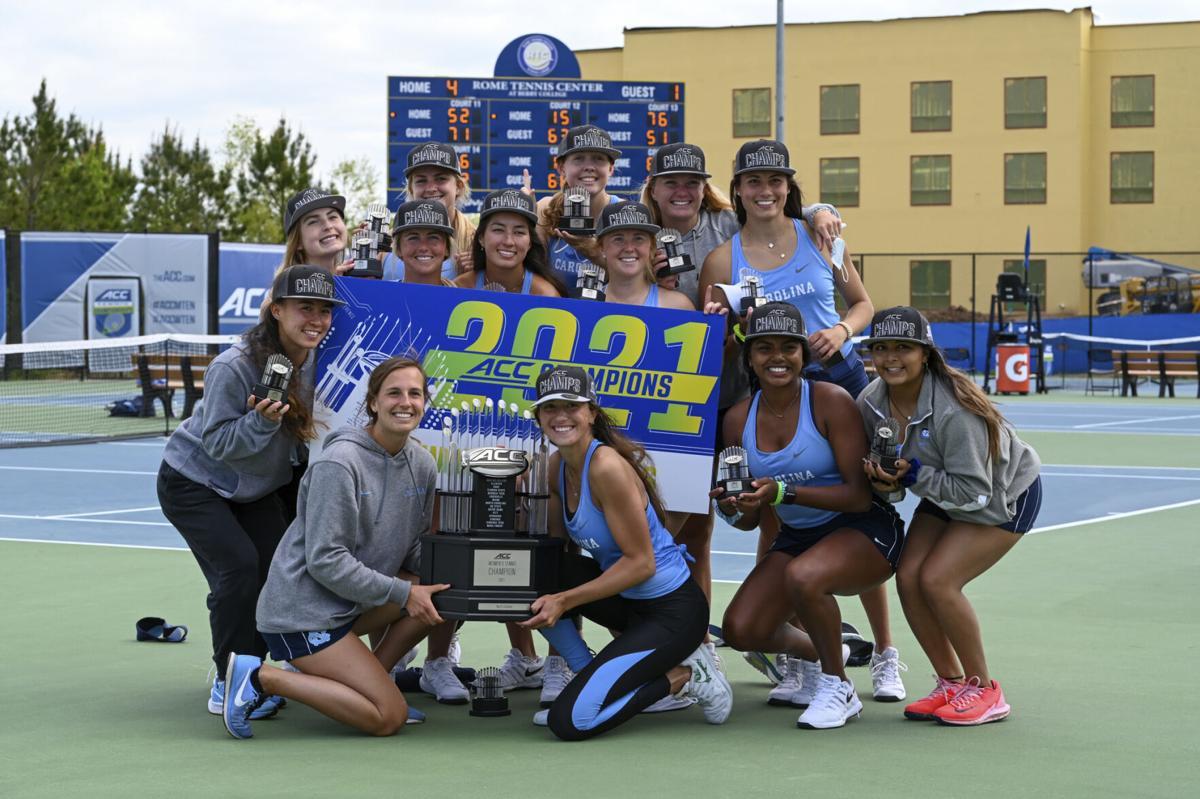 Carolina women, Virginia men win ACC tennis titles at Rome Tennis Center