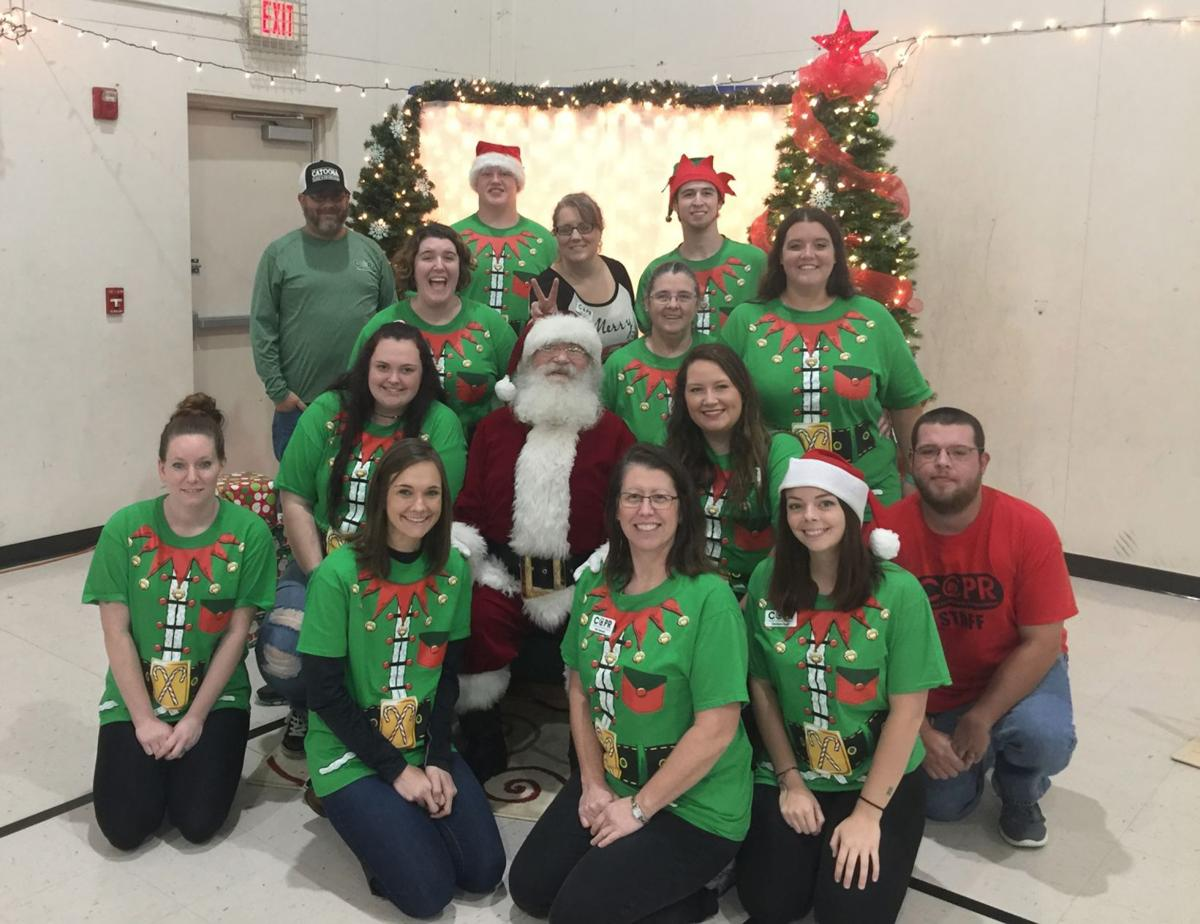 Catoosa Parks and Recreation staff, Christmas