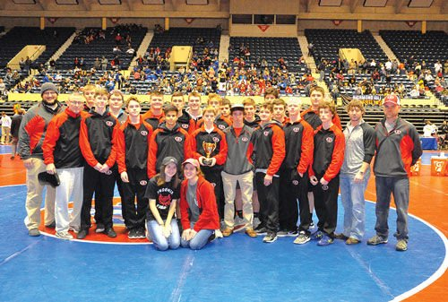 Sonoraville takes third at State Duals