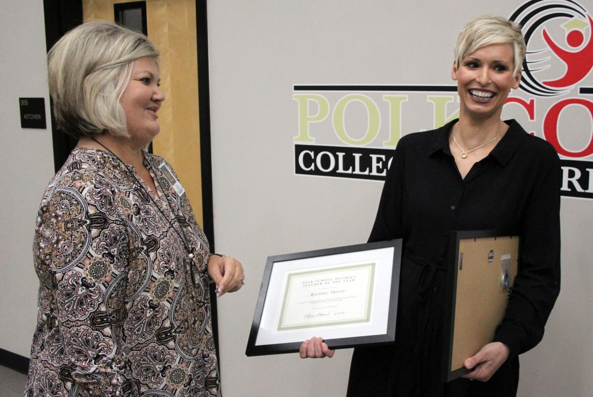 Youngs Grove's Truitt named PSD Teacher of the Year