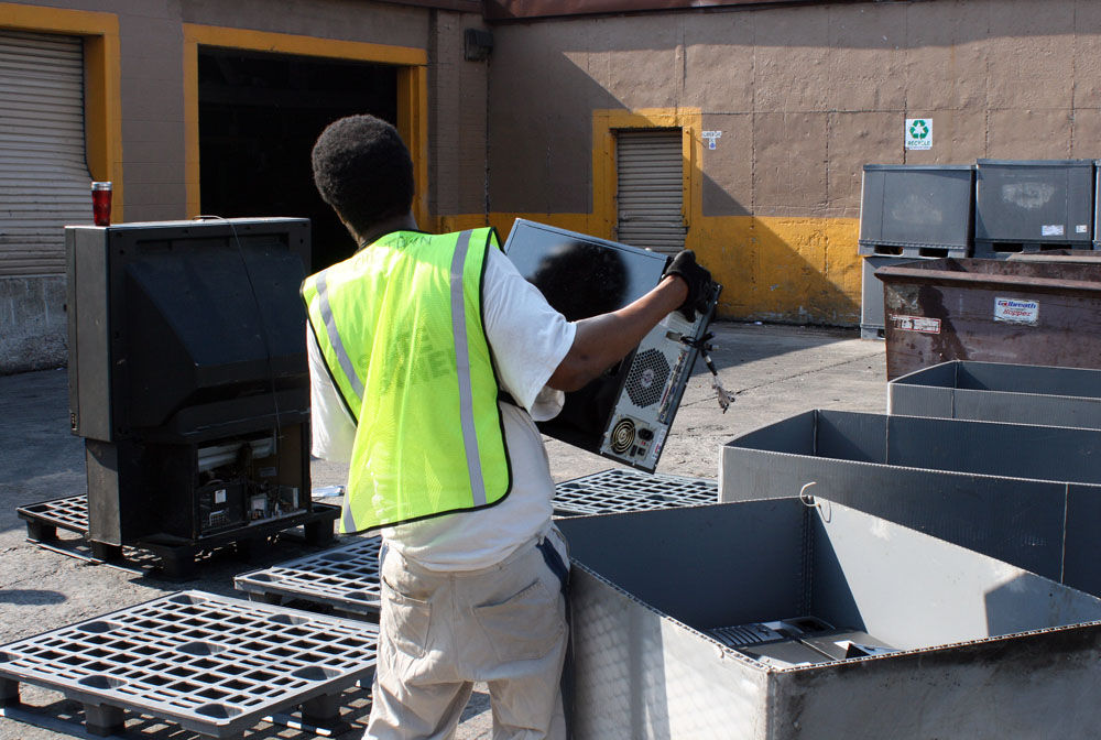 Electronics & Hazardous Waste recycling collection