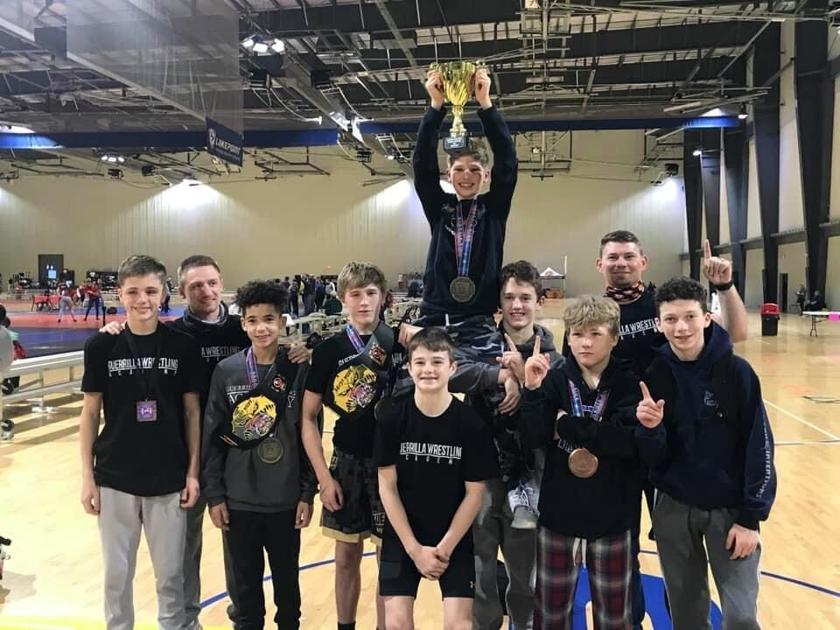 Guerilla Wrestling Academy claims state wrestling championship at LakePoint