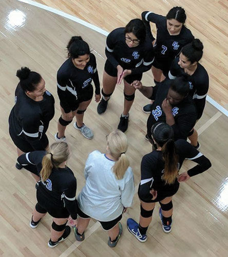 Gordon Central Volleyball at Area 3-AA Tournament