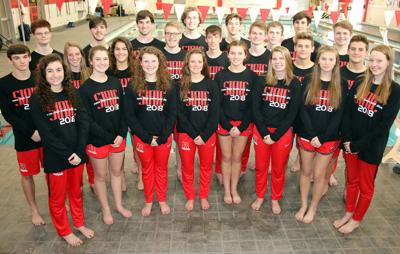 Rome High State Swimming Qualifiers