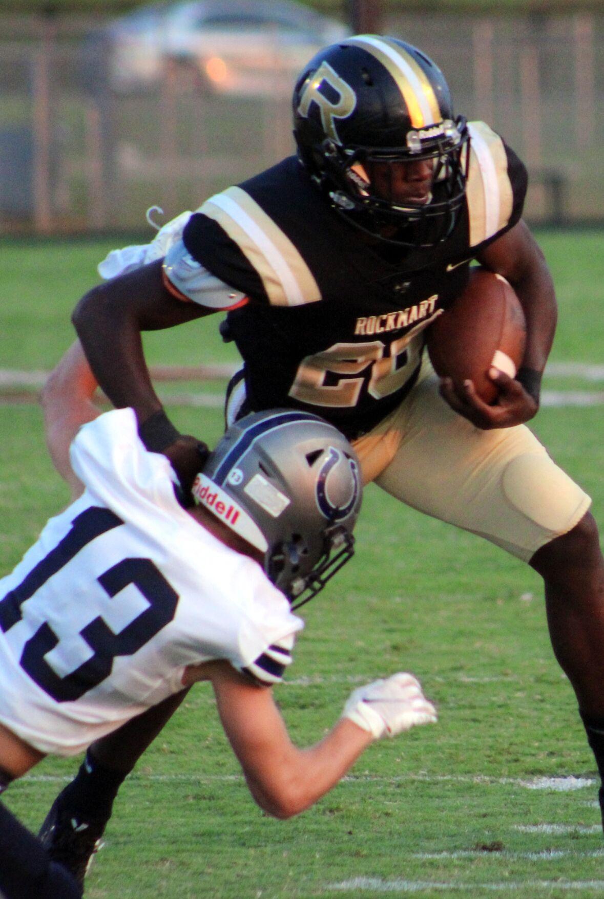 Rockmart thrashes Colts in region opener