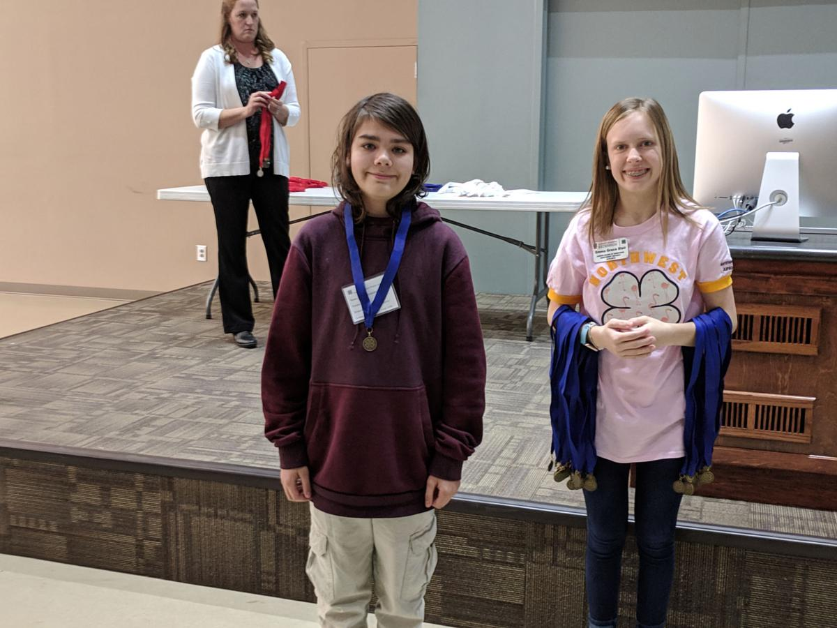 Gordon 4-H'ers win at Cloverleaf Project Achievement event