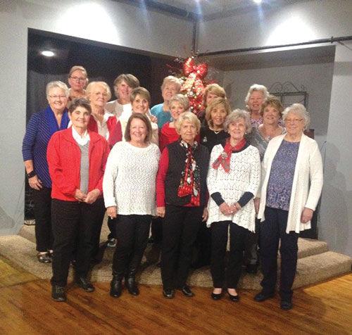 Ladies Golf League banquet group