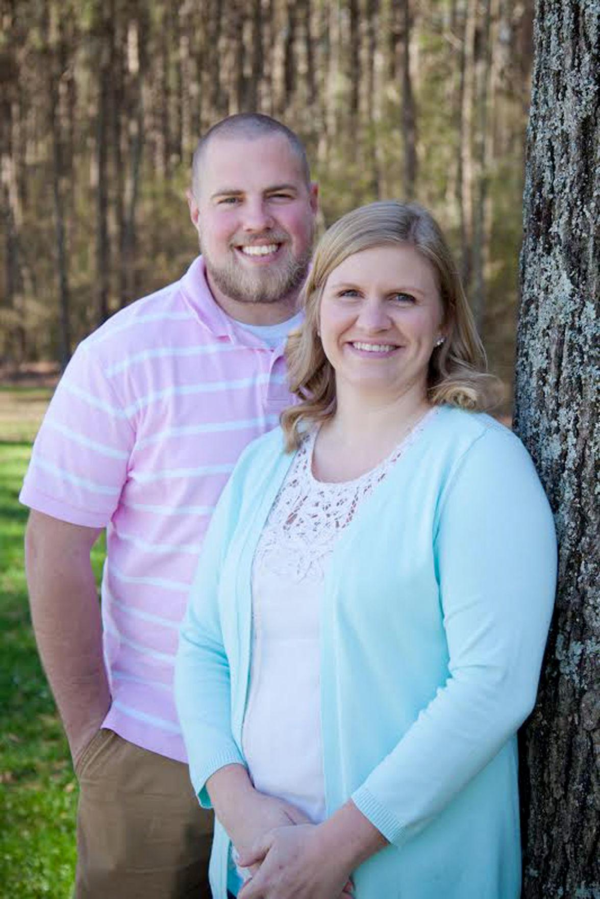 Katherine Drummond and Cody Dover