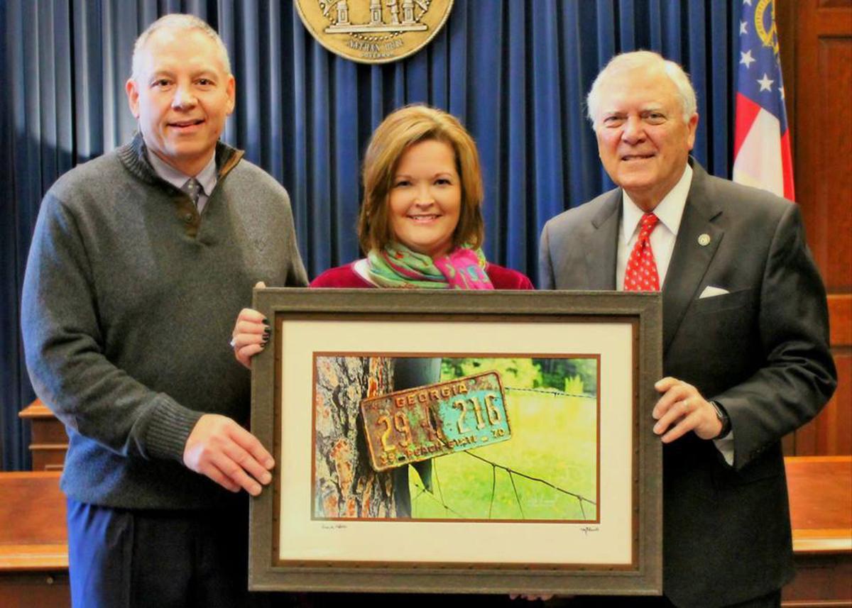 Rita Mull photo selected to hang in executive office again