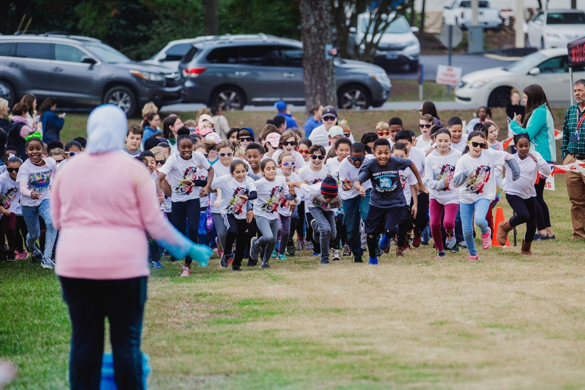 West End hosts color run to raise money for playground equipment