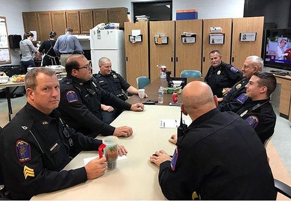 Fort Oglethorpe police officers