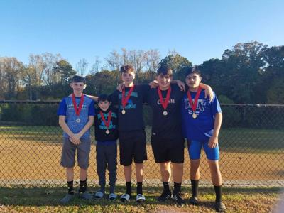 Ashworth Middle School - Mt. Zion medal winners 2019
