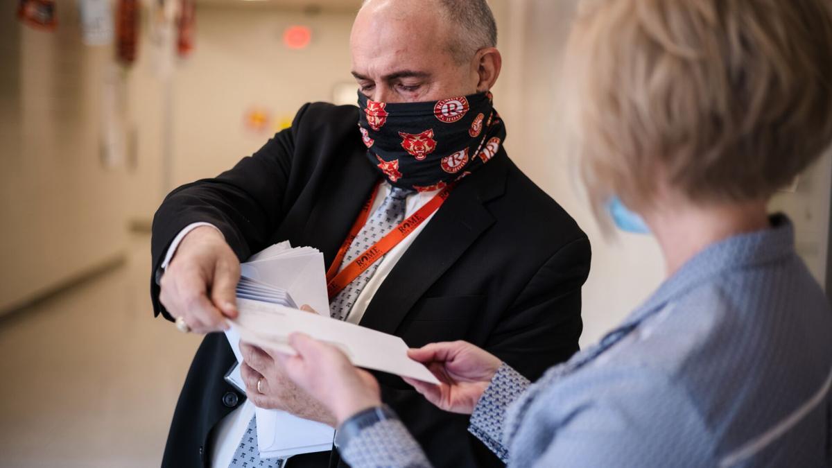 City schools teachers given reimbursement checks before break