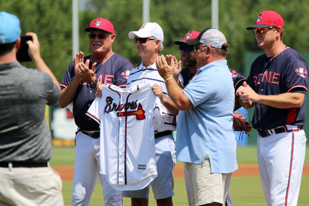 Rome Braves honor Bill Shiflett