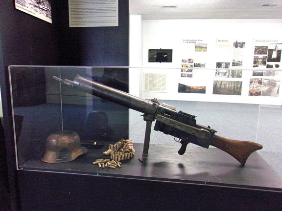 German machine gun