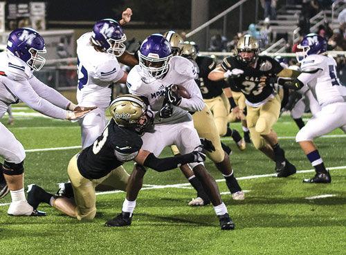 Calhoun defensive line