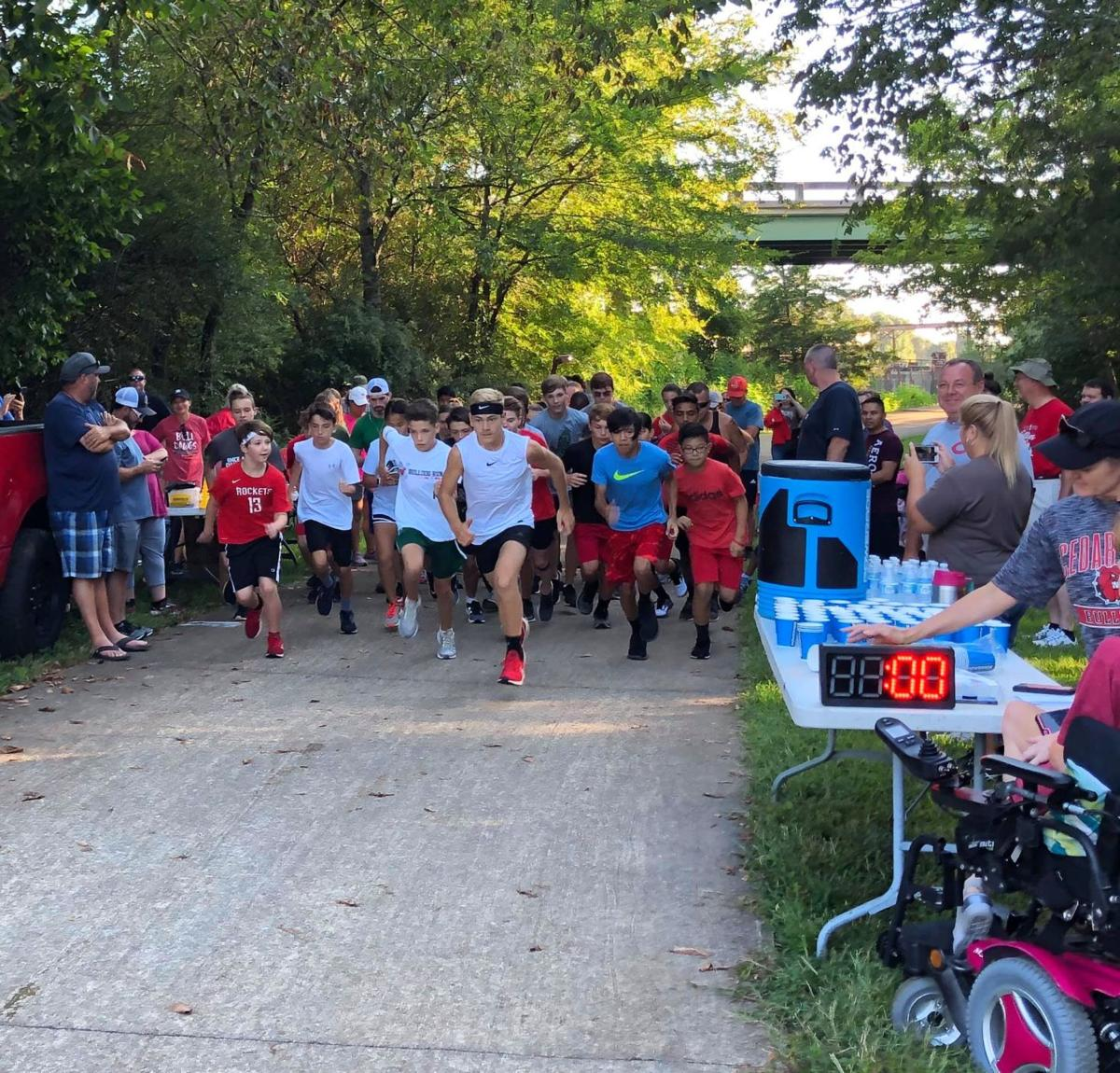 Bulldog 5K Road Race held over the weekend