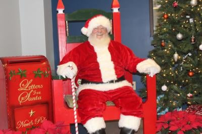 Parks and rec playtime with Santa events