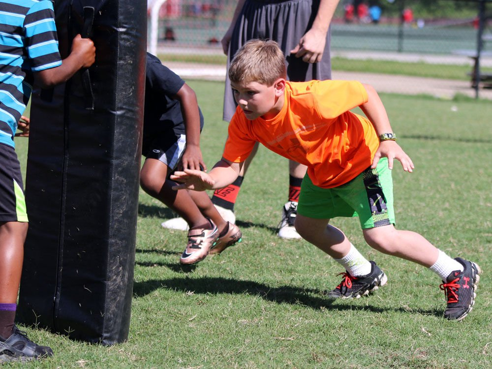 Rome Wolves Youth Football Camp