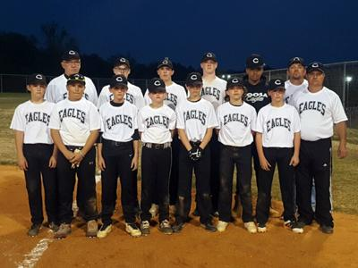 Coosa Middle Baseball JV team