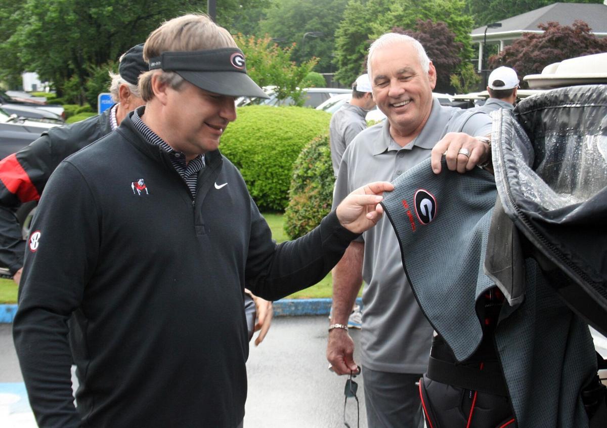 Sheriff hosts celebrity golf tournament with UGA football coach Kirby Smart