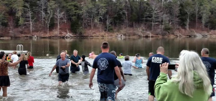 "Be ""Freezin' for a Reason"" at the 5th annual  Polar Bear Plunge on New Year's Day"