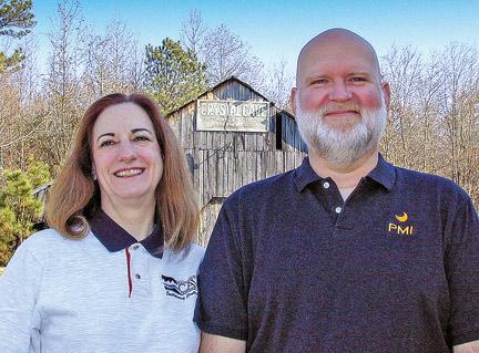 Steve Hudson and Diane Cousineau