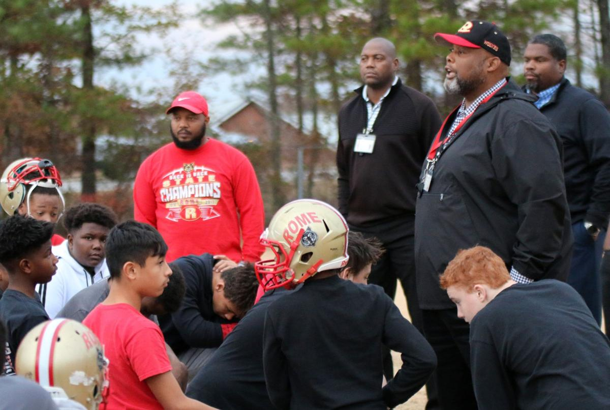 Rome Middle football