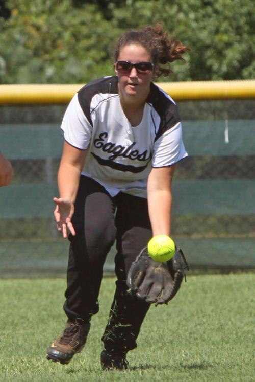 Pepperell softball scrimmages