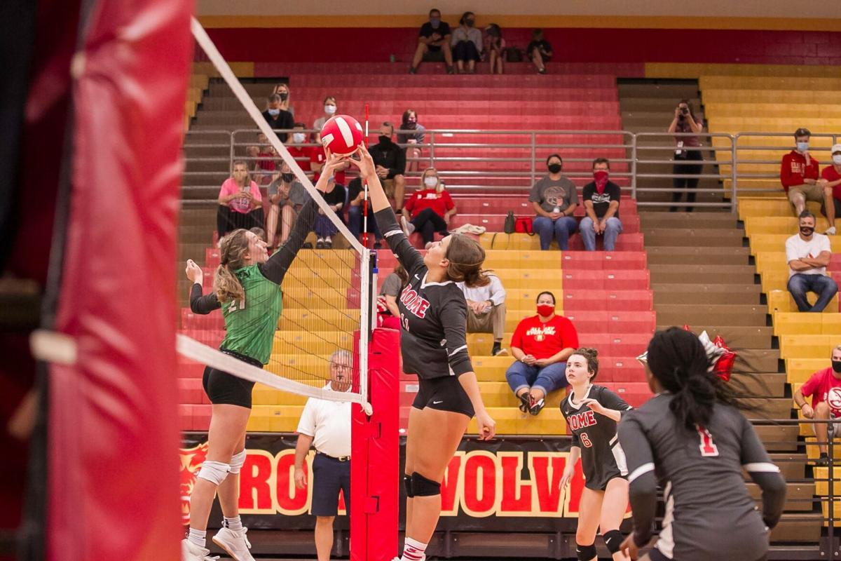 Rome Volleyball - Mary Ella Bussey