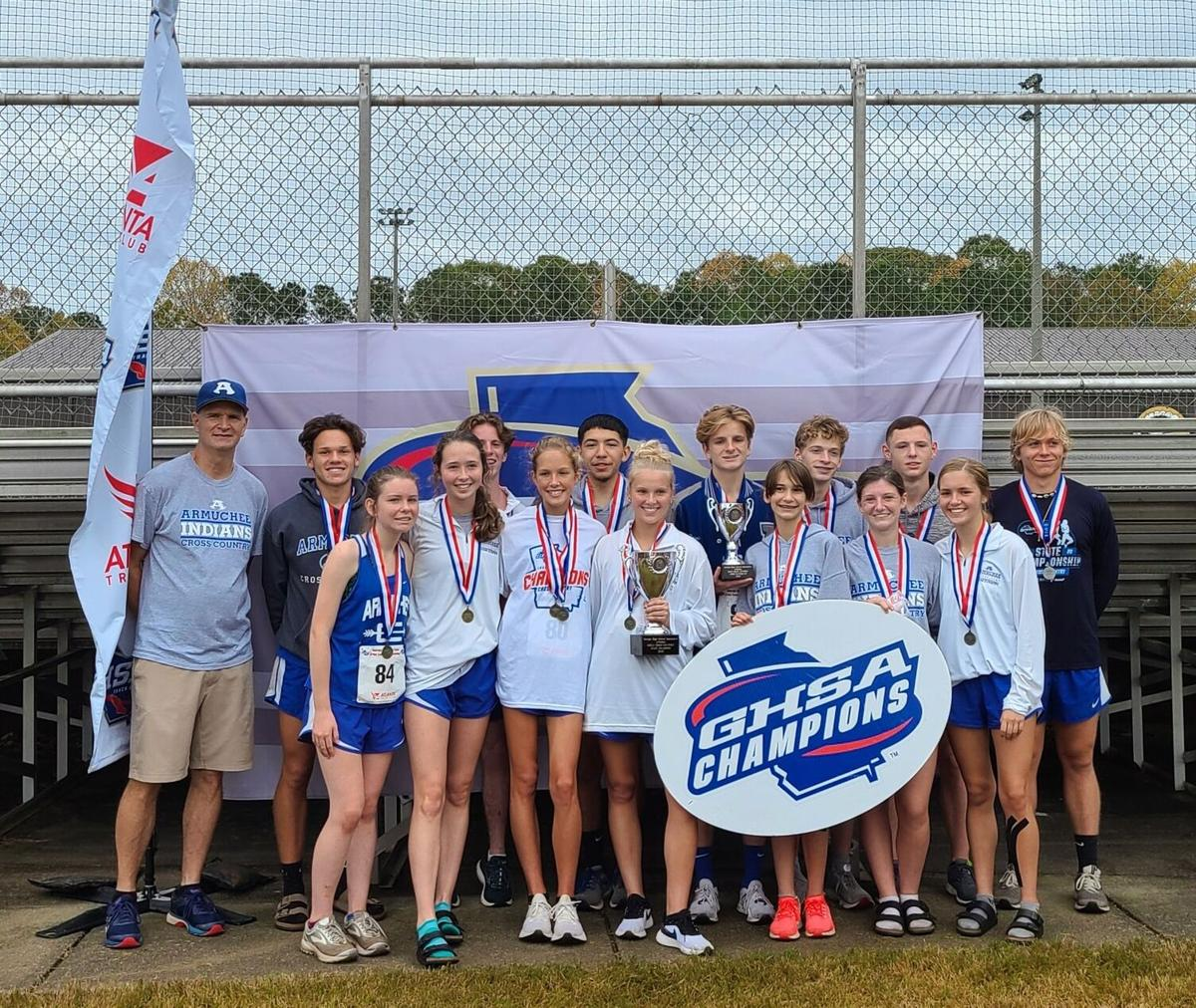 Armuchee Cross Country State Meet 2020