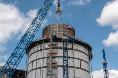 Plant Vogtle expansion hits two key milestones