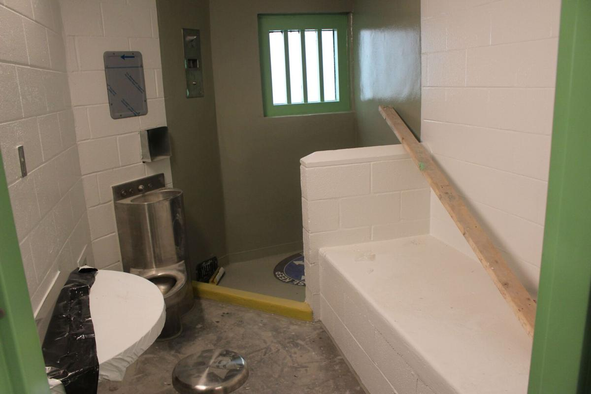 Mental health wing slated to be complete by July, opening sometime in August