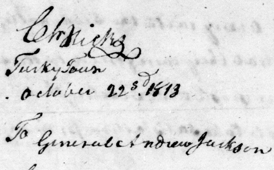 Charles Hicks signature