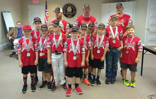 Gordon County 8-under Baseball All-Stars