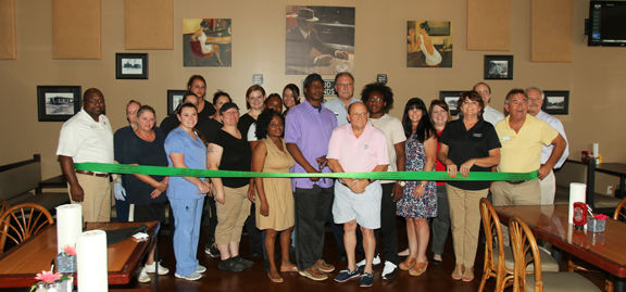 Duke's holds ribbon cutting to celebrate one year at Dews Pond Road location