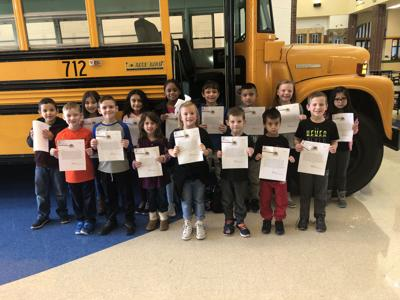 Calhoun Primary students' writing honored