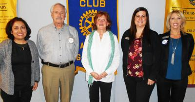 Dr. Naymick discusses Osteopathic Family Medicine with local Rotary